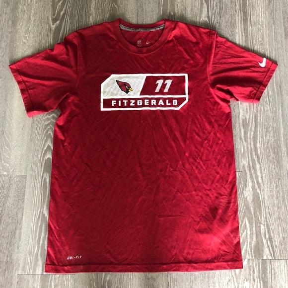 c6ae993e Nike NFL Med. Fitzgerald Arizona Cardinals T-shirt